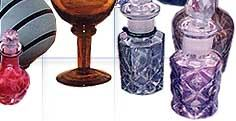 Glass Items & Perfume Bottles